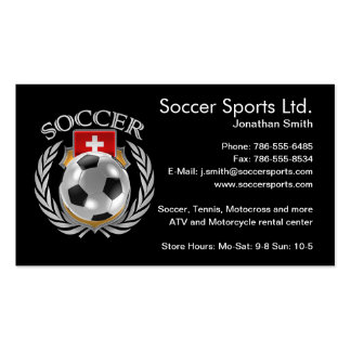 Switzerland Soccer 2016 Fan Gear Business Card