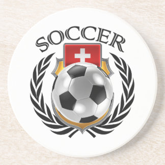 Switzerland Soccer 2016 Fan Gear Coaster