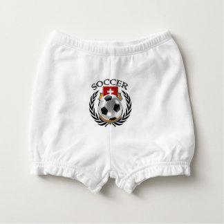 Switzerland Soccer 2016 Fan Gear Diaper Cover