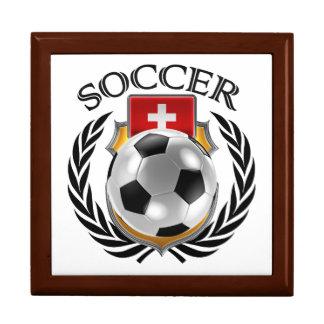 Switzerland Soccer 2016 Fan Gear Keepsake Box