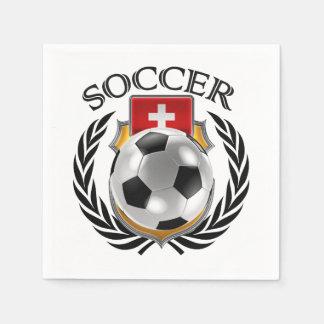 Switzerland Soccer 2016 Fan Gear Paper Napkin