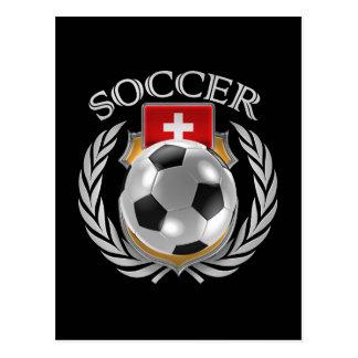 Switzerland Soccer 2016 Fan Gear Postcard