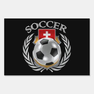 Switzerland Soccer 2016 Fan Gear Sign