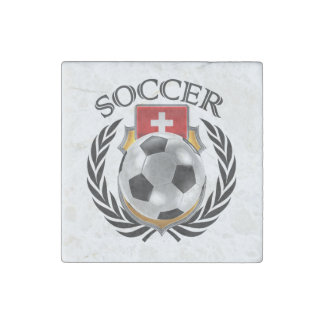 Switzerland Soccer 2016 Fan Gear Stone Magnet