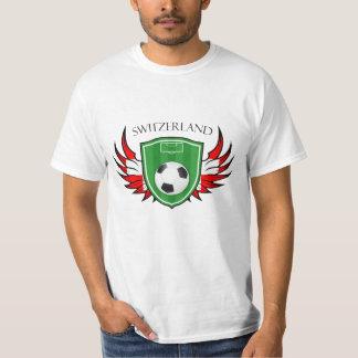 Switzerland Soccer Ball Football T-Shirt