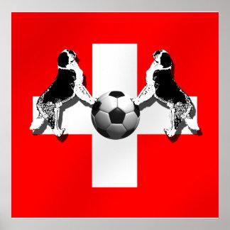 Switzerland Soccer - Brazil 2014 Nati World Cup Print