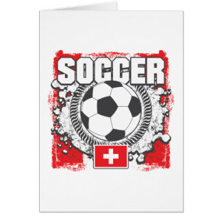 Switzerland Soccer Card