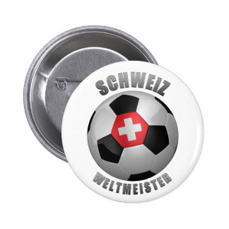 SWITZERLAND SOCCER CHAMPIONS BUTTONS