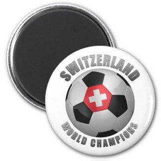 SWITZERLAND SOCCER CHAMPIONS REFRIGERATOR MAGNET