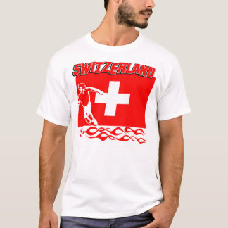 Switzerland soccer designs T-Shirt