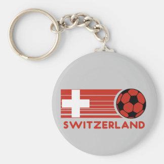 Switzerland Soccer Keychain