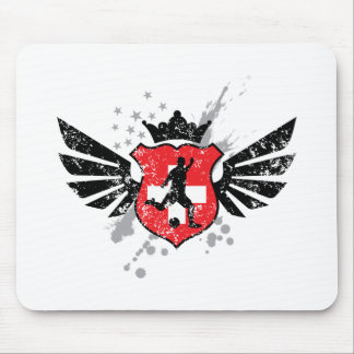 Switzerland soccer mouse pad