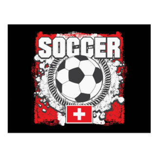 Switzerland Soccer Postcard
