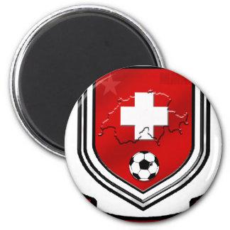Switzerland soccer shield Swiss Crest Presents Magnet