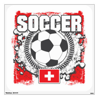Switzerland Soccer Wall Decal