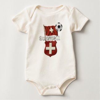 Switzerland Soccer - World soccer fans 2014 Baby Creeper