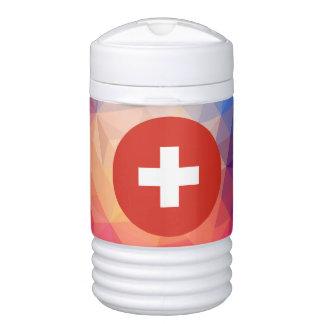 Switzerland Souvenir Beverage Cooler