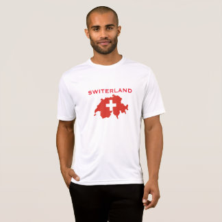 Switzerland Sport-Tek Competition Flag Map Shirt