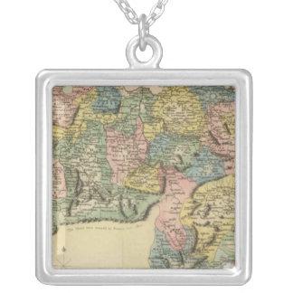 Switzerland Square Pendant Necklace