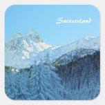 Switzerland Square Sticker