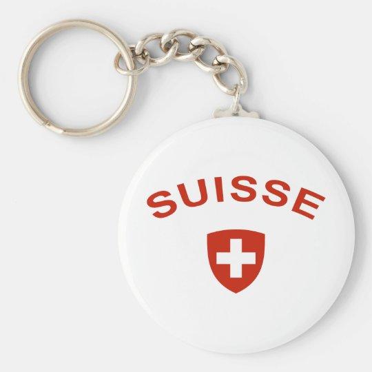Switzerland Suisse Keychain