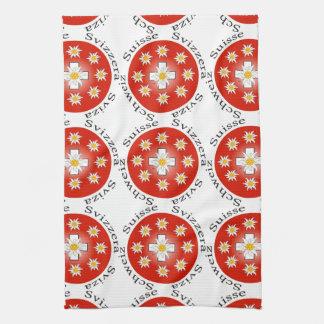 Switzerland - Suisse - Svizzera of table-ware Kitchen Towels