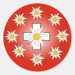 Switzerland Suisse Svizzera Svizra sticker