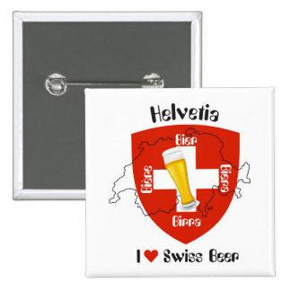 Switzerland - Suisse - Svizzera - Svizra - Switzer Button