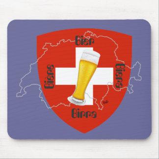 Switzerland - Suisse - Svizzera - Svizra - Switzer Mouse Pad