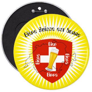 Switzerland - Suisse - Svizzera - Svizra - Switzer Pinback Button