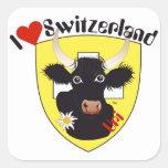 Switzerland Suisse Svizzera Svizra Switzerland adh Stickers
