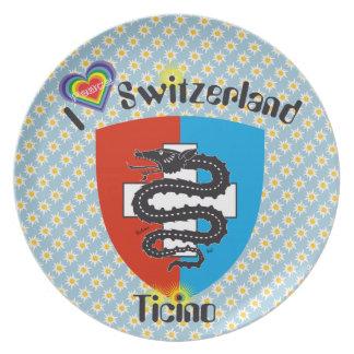 Switzerland, Suisse, Svizzera, Switzerland plate