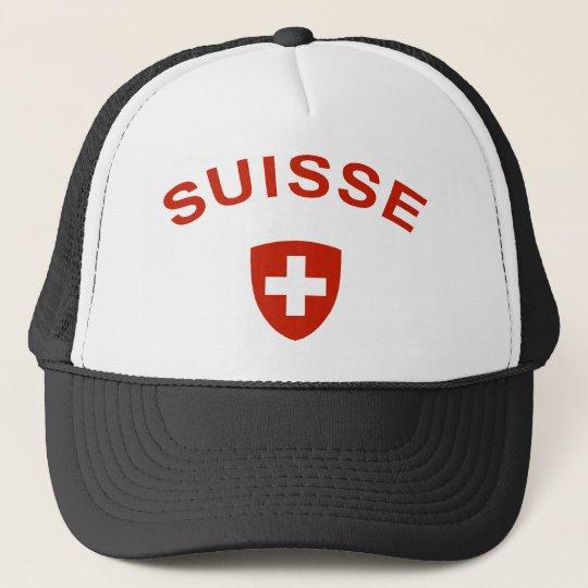Switzerland Suisse Trucker Hat