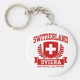 Switzerland Svizra Key Chain