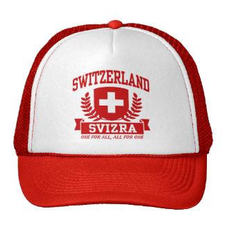 Switzerland Svizra Trucker Hat