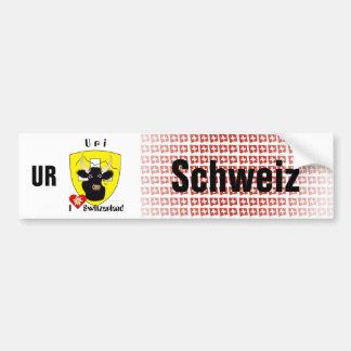 Switzerland Svizzera Suisse Uri autosticker Bumper Sticker
