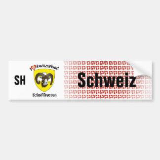 Switzerland Svizzera Suisse work living Bumper Sticker