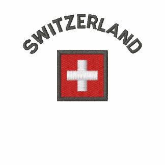 Switzerland Sweatshirt With Swiss Pocket Flag