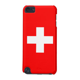 Switzerland - Swiss Flag iPod Touch (5th Generation) Cases