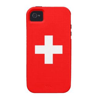 Switzerland - Swiss Flag iPhone 4 Cover
