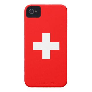 Switzerland - Swiss Flag iPhone 4 Case-Mate Cases