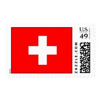 Switzerland - Swiss Flag Stamps