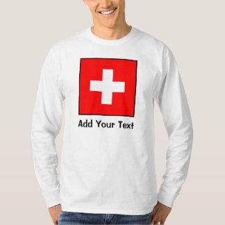 Switzerland - Swiss Flag T-Shirt