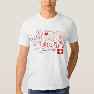 Switzerland Swiss National Day August 1st T Shirt