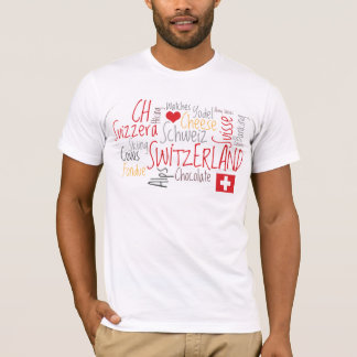 Switzerland Swiss National Day August 1st T-Shirt