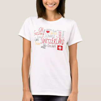 Switzerland Swiss National Day August 1st T-Shirt