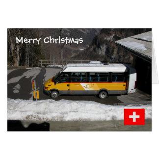 Switzerland, Swiss Postbus Card