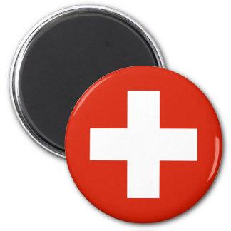 Switzerland , Switzerland 2 Inch Round Magnet