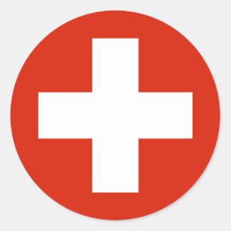 Switzerland , Switzerland Classic Round Sticker