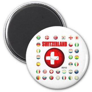 Switzerland t-shirt d7 refrigerator magnet